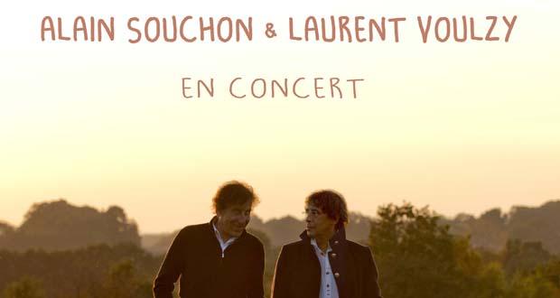 Alain Souchon & Laurent Voulzy en concert